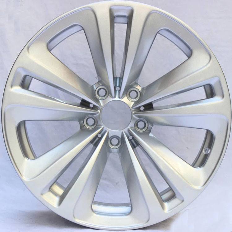 "Hyper Silver Customized Alloy Rims For BMW 730 Li / 18"" Forged Alloy Rims 5x120"