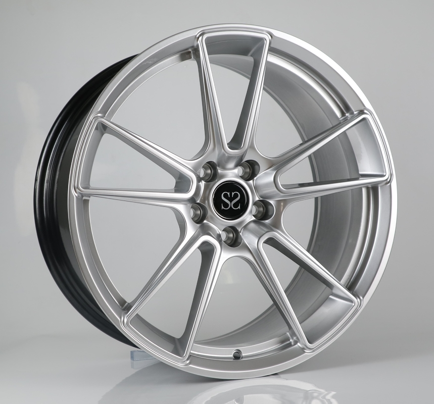 Porsche Forged Wheels 19 inch hyper silver aluminum alloy car wheel rims factory china