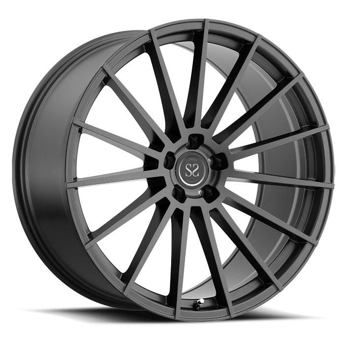 aftermarket JWL VIA 1 piece forged monoblock racing vehicle wheels rims For Ferrari Forged Wheels