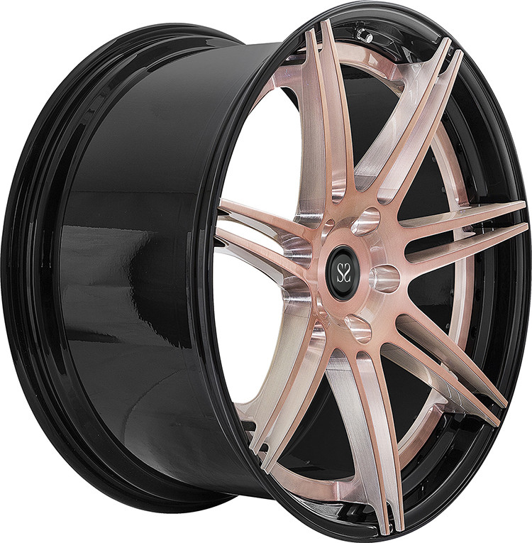 22 Rims Customized 2-PC Forged Alloy Rims For Range Rover Rims 5x120